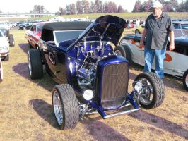 32' blue Ford Roadster A by Eagle07