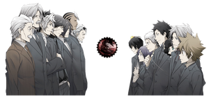 [Render] Vongola Family by LiriaSky