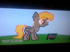 Derpy for The triforcebaerer Derpy hooves pixelart by Darkussdude3901