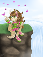 Gift: Kaya-Snapdragon by Kellkie