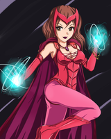 Scarlet witch :sigurdhosenfeld by singory