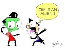ZIM IS AN ALIEN by LOLGirlization