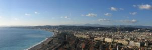 Chateau View, Nice, France by somethingstrung