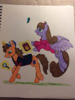 Gravity Falls as Ponies :3 by ScratchDixie