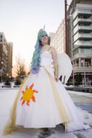 Princess Celestia- Full gown by MintyBlitzz