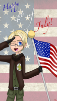 Happy Murica Day! by silverwing2254