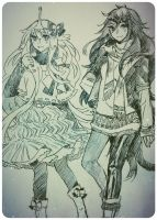 :AT: winter girls by LabJusticaholic
