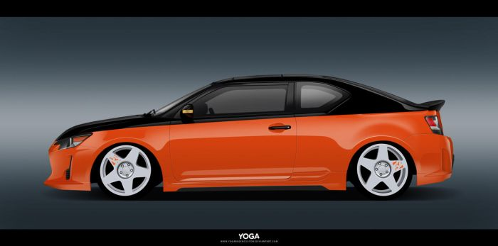 Scion tC Stance by YogaBudiwCUSTOM