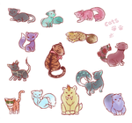BG: CATS (ver. feline) by Kuumone