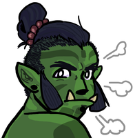 Green Charon by beedwise