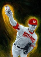 Stephen Strasburg by carts