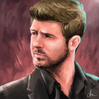 Robin Thicke (Update) by WindCyclone