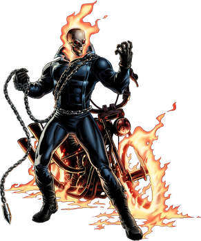 Marvel Avengers Alliance Ghost Rider by ratatrampa87