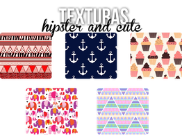 Texturas Hipster And Cute by iMissMovinOn