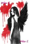 One Winged Woman by MistryssC