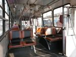 Interier of Skoda 14Tr trolleybus by 15miki15