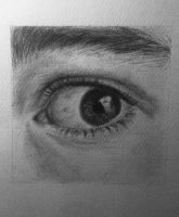 Part 2: Eye in progress by Epilic