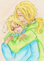 APH: FxC Hold you in my arms by AlienaxD