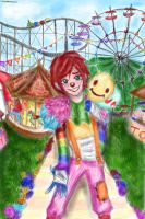 welcome to my circus kiddo! Laughing jack by NENEBUBBLEELOVER