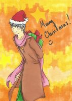 Merry Christmas from Ivan by LollypopWolf