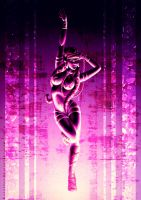 Purple Dancer by Raenyras
