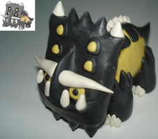 Clay Pokemon - Bastiodon by najtee