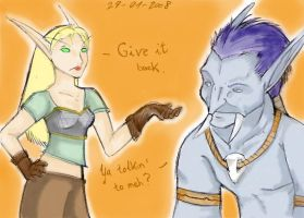 Give what?? -colored version- by CursedFreak