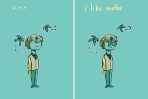 LesMis: Combeferre likes moths by SarlyneART