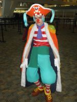 Otakon 2012 - Buggy the Clown by mugiwaraJM