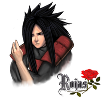 Madara Uchiha by Jokersita