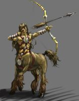 WoD Artworks: Centaur by OptionBB