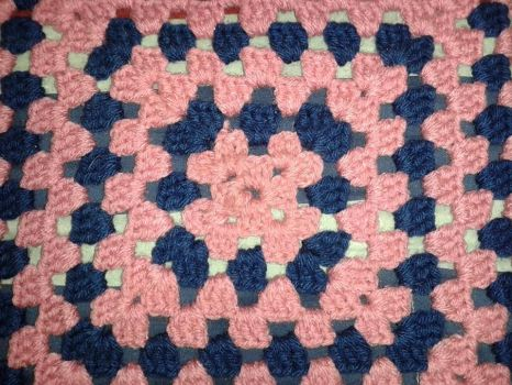 Look and Colour of Valentines'esk Blanket WIP by DWCreations2014