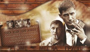 Design with Tom Hardy by ItsSweetHeart