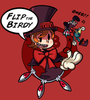 Flip the Birdie by MedicApprentice