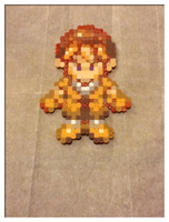 Cliff - Harvest Moon - Bead Sprite by flamemandala