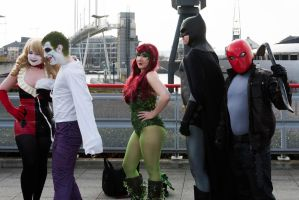 London Super Comicon 2015 53 - DC Group by cosmicnut