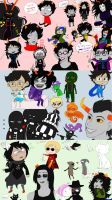 Homestuck Doodle Pages 1-3 by Kireikage