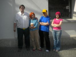 my family guy cosplay group :D by Eric--Cartman