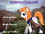 Marian Cousland by ProfessionalParrot