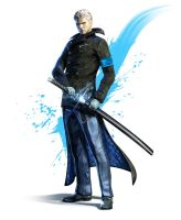 Vergil of DmC by Nilihas