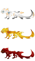 Water Dragon Adopts CLOSED by ErisAdopts