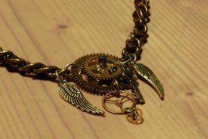 Steampunk Necklace by Eisfluegel