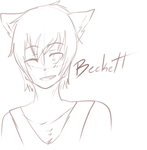 [KKT] Beckett Sketch by CoffehKittehFluff