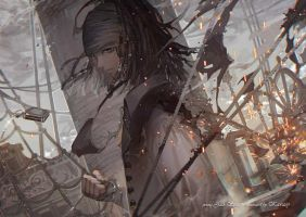 Dead Men Tell No Tales by kawacy