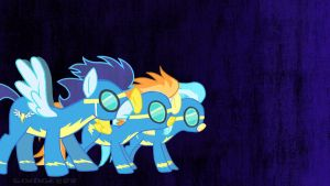 Wonderbolts Wallpaper #1 1080p by Sludge888