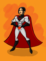 Nicktoons-style Soviet Superwoman by Soviet-Superwoman