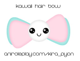 Kawaii-Bow-1 by HizzaBabeh