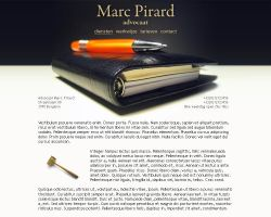 company - Advocaat Marc Pirard by DevStyle