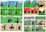 Stan the Crow daily strips by Granitoons