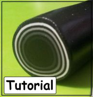 Polymer Clay Skinner Spiral Roll Tutorial by BacktoEarthCreations